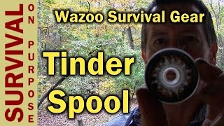Waxed Jute Tinder Spool - Fire Starter Review