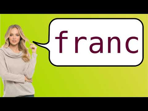 How to say 'CFP franc' in French?