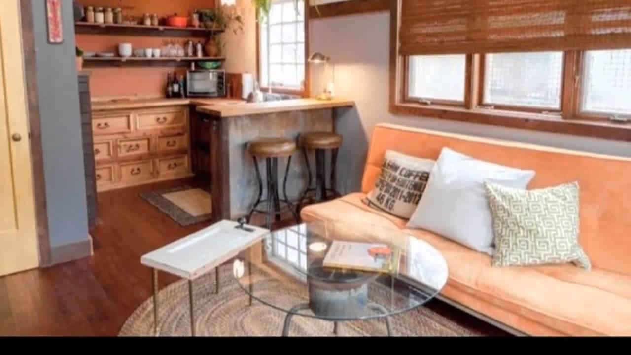 Couples Backyard Rustic Modern Reclaimed DIY Tiny House