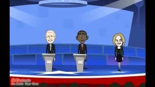 Дебаты . Барак Обама . Моя твоя не понимать .
