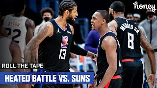 Heated Battle Between Clippers and Suns