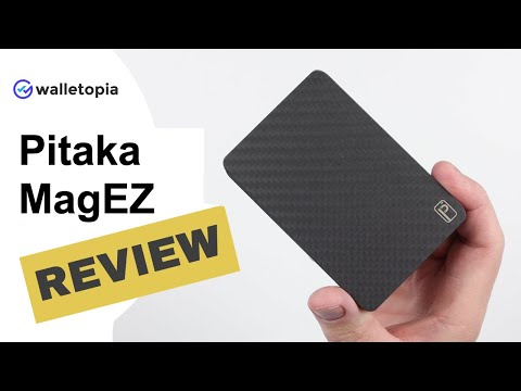 Pitaka MagEZ Wallet // An Expensive Way To Demagnetize Your Cards