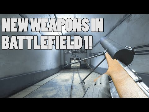 5 NEW WW2 WEAPONS in Battlefield 1 GAMEPLAY