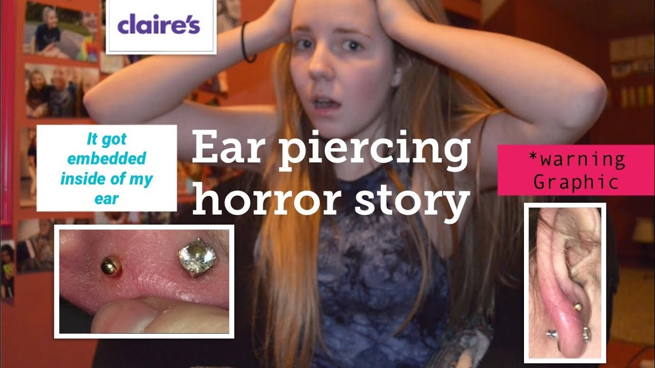 Ear Piercing HORROR Story ! *Don't Go To CLAIRE'S || Storytime (2)
