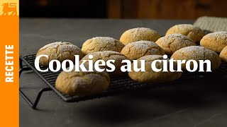 Cookies au citron