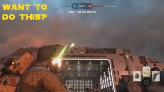 unlimited pulse cannon glitch tutorial   xbox   pc   ps4 star wars battlefront