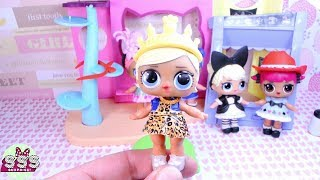 Челлендж ЛОЛ мода ♥ куколки ЛОЛ конкурс красоты/ Chelendge LOL fashion ♥ dolls LOL dress up