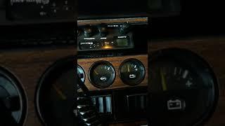 Cold start -14 ^C  Ford Granada diesel 2.3 XD3 Indenor