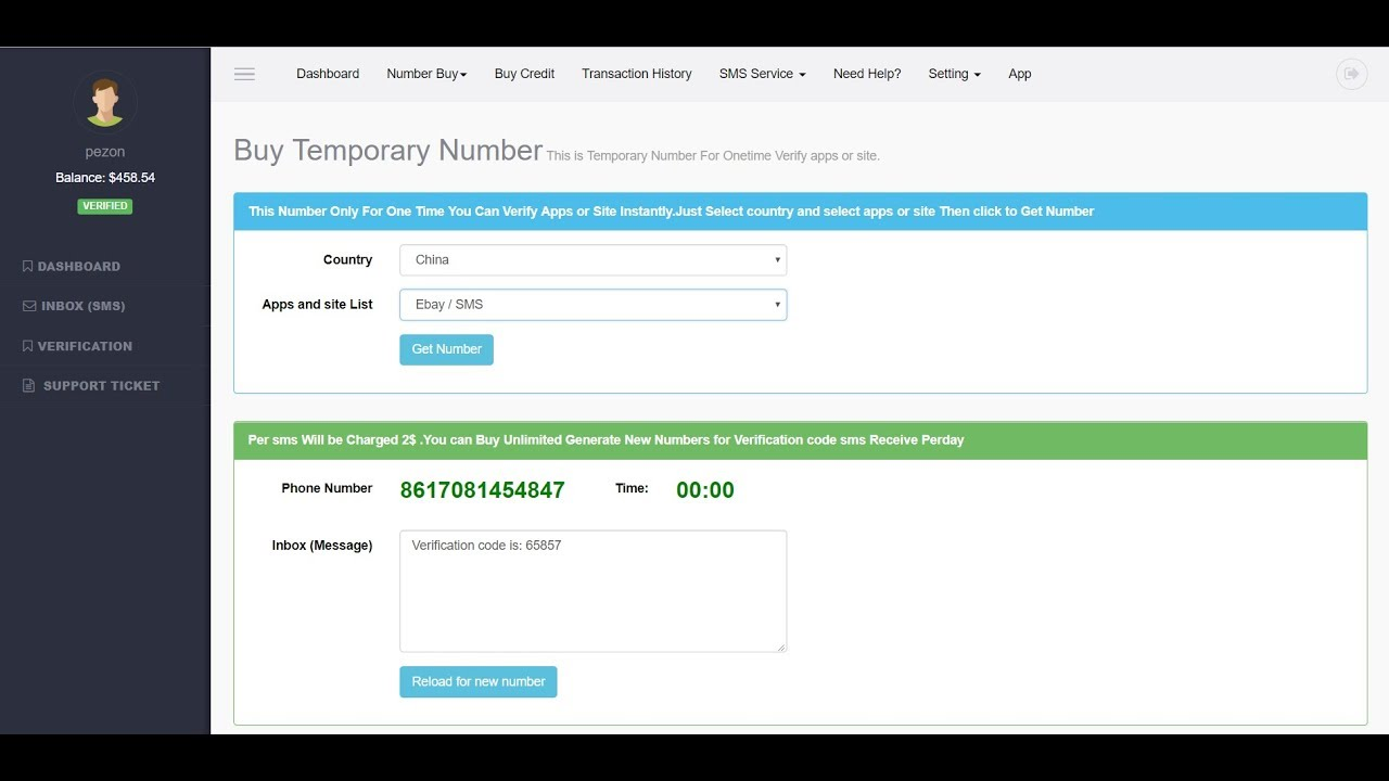 Online Temporary Mobile Number For Verification