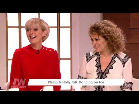 Phillip Schofield and Holly Willoughby on the Return of Dancing on Ice | Loose Women streaming vf