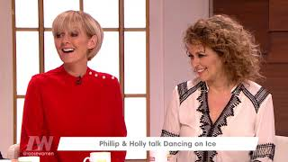 Phillip Schofield and Holly Willoughby on the Return of Dancing on Ice | Loose Women