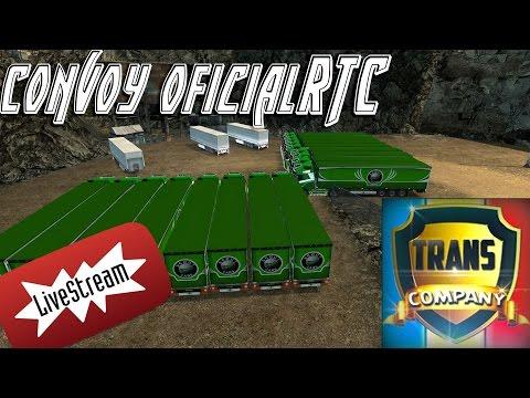 LIVE Convoy Oficial RTC Europa + Scandinavia 28.04.2017