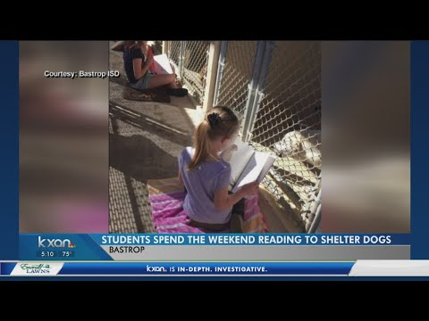 Paw-some! Bastrop County kids read to animals in local shelter