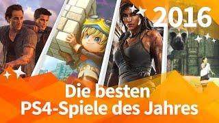 Die BESTEN PS4-SPIELE  2016