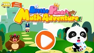 Panda's Math Adventure | Bad Guy Catches Baby Panda | Learn Math for Kids | BabyBus Game