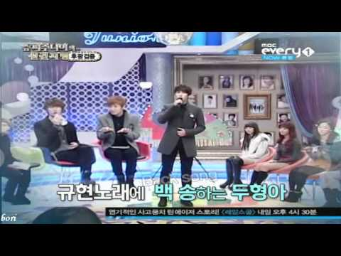 110112 Super Junior's Foresight Ep. 6 - Kyuhyun Singing After Love