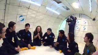 Space Camp Day #5 - Zero G Experience