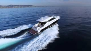 Amazing!! 2016 Tiara 50 Coupe Carving Turns!!