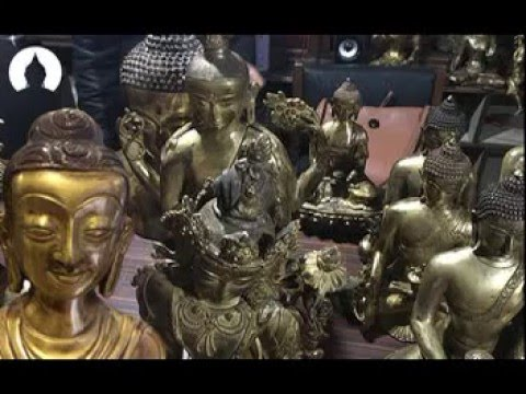 Antique Buddha Statues from Nepal - Cargo Shipment from Nepal