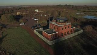 Greenham Common 2017 Silos and Control Tower 4k and STAR WARS location V2