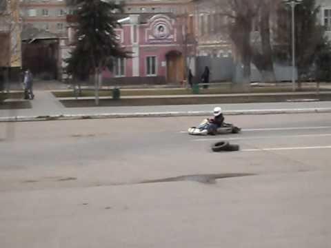 Картинг Энгельс 2011 Апрель. Www.karting64.ru
