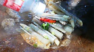 Taiwan Street Food - Razor Shell Clams