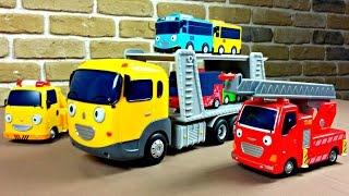 Игрушечный автовоз из Тайо - Видео для детей