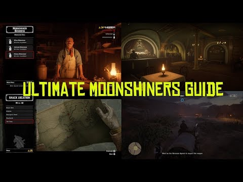 Red Dead Online Ultimate Moonshiner Guide, How To Make Money With The Moonshine Business