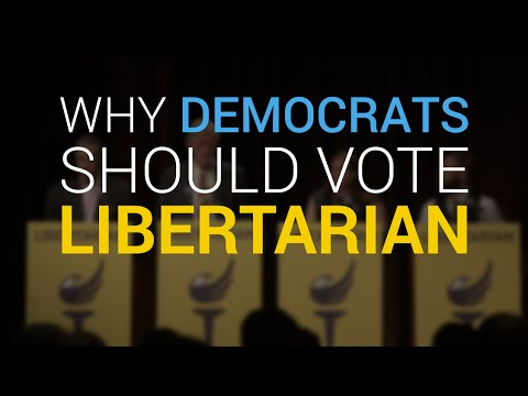 Why Democrats Should Vote Libertarian This Year, According to Libertarian Party Members