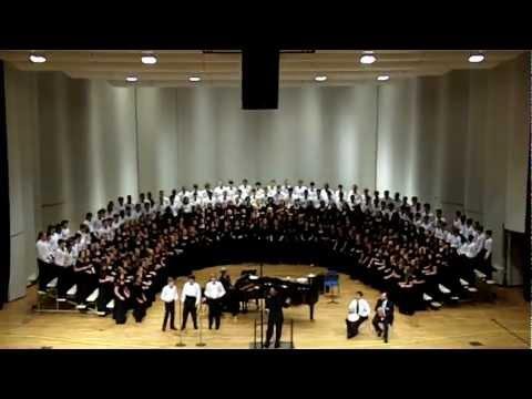 Tshotsholoza  GMEA 2012 AllState Chorus : 910 Mixed Choir