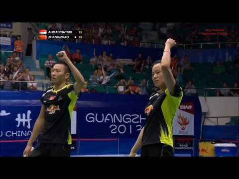 Amazing BADMINTON Mixed Doubles Rallies PT. 1