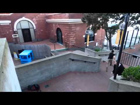 Parkour and Freerunning San Francisco