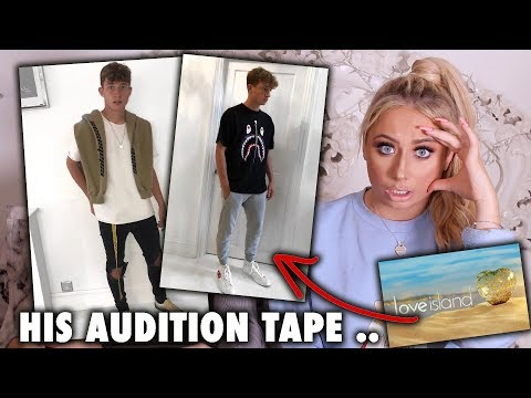 APPLYING MY TEEN BROTHER FOR LOVE ISLAND 2019!! *his audition tape*