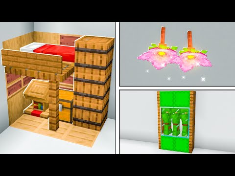 27+ Minecraft House Build Hacks & Ideas Challenge