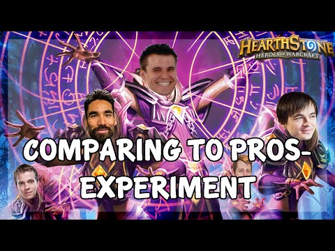 Comparing to pros-experiment (feat. Thijs, Lifecoach, Kolento, SuperJJ and Brian Kibler)