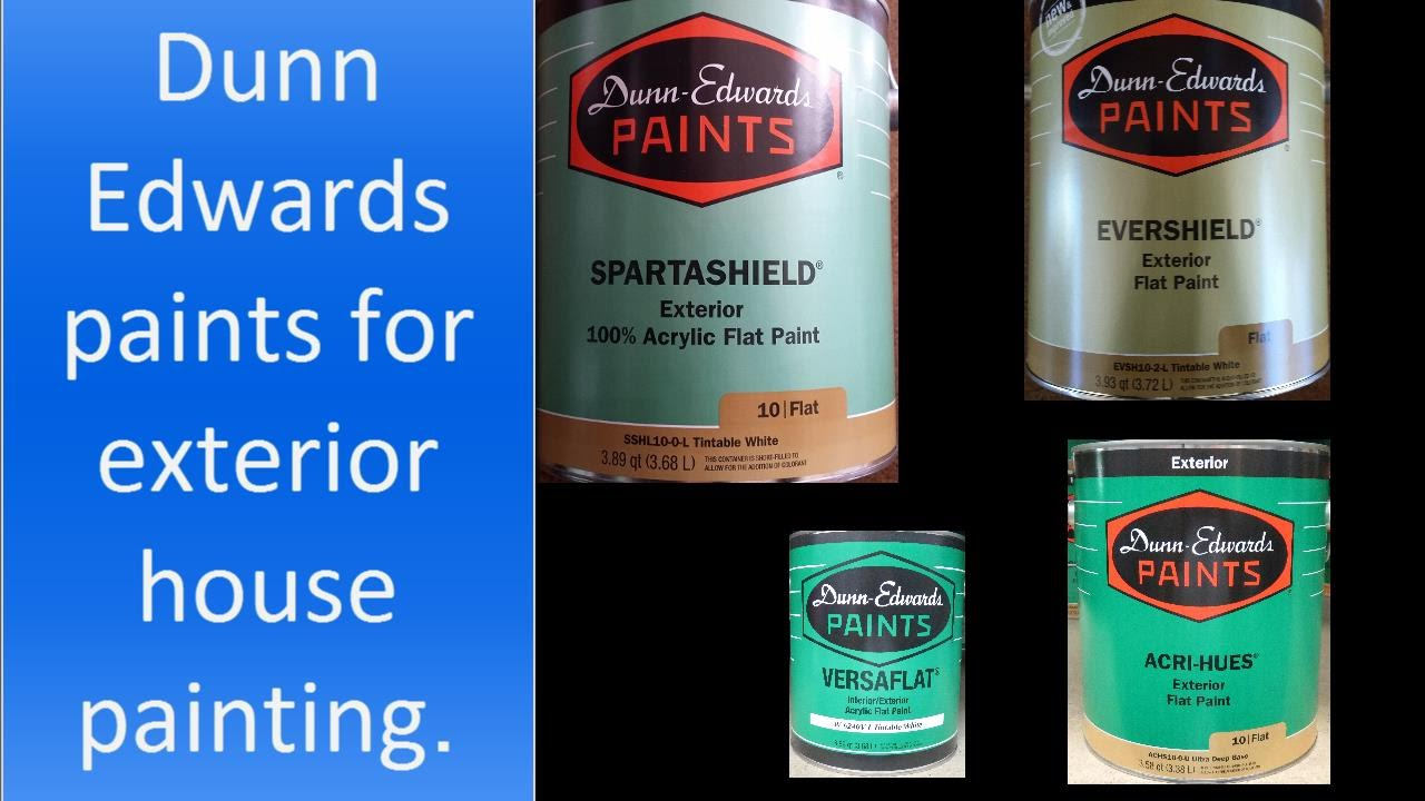 Chosing Dunn Edwards paint best for exterior house painting. - YouTube