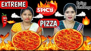 EXTREME SPICY PIZZA EATING CHALLENGE | Spicy Pizza Eating Challenge | Funny Food Challenge