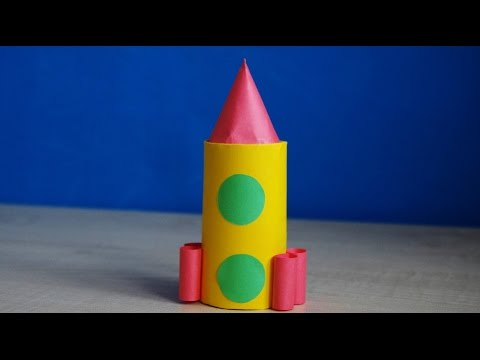Ракета своими руками для детей