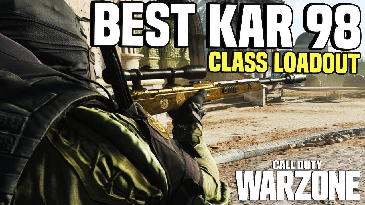 Warzone | Most Satisfying Gun! Best Kar 98 Class Loadout gameplay