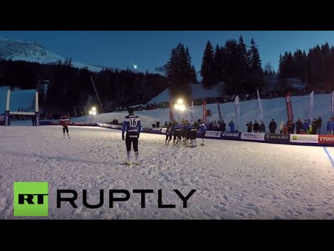 France: Watch as meteorite falls to Earth near French ski resort