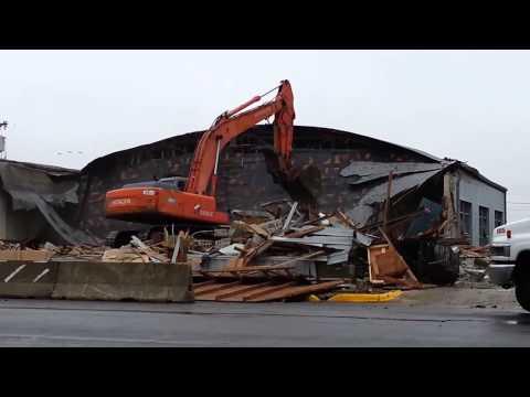 Odessa Branch Demolition