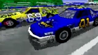 Daytona USA (1996) PC Playthrough - NintendoComplete