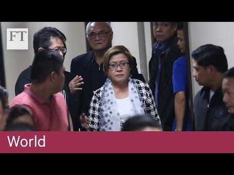 Duterte opponent arrested