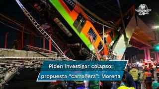 """Con 13 votos a favor y 20 en contra, legisladores de Morena frenaron la propuesta al considerar que es """"carroñera"""" y no es un tema de """"urgente y obvia resolución"""""""