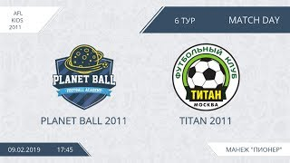 AFL for KIDS 2011. Day 6. Planet Ball 2011 - Titan 2011.