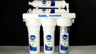 فلتر مياه تانك 5 مراحل شرح طريقة التركيب