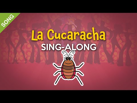 La Cucaracha (English) | Nursery Rhymes | Children Songs  [Sing-Along with Lyrics]