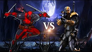 Deathstroke vs deadpool  :epic battle episode 6