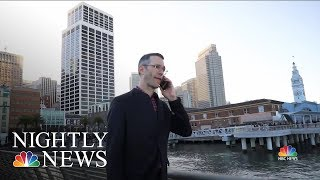 What Personal Data You Give Away When You Hand Out Your Cell Phone Number | NBC Nightly News