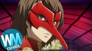 ¡Top 10 VILLANOS de Anime DISFRAZADOS!